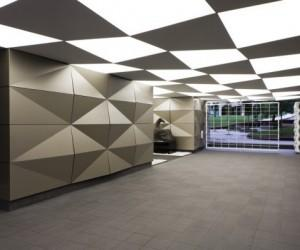 Beethoven Building Entrance and Lobby Area \ ARCHIT3CTUM : plusMOOD