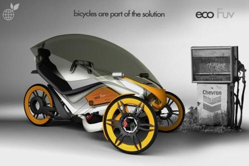 Future Transportation - Eco FUV Urban Bicycle By Fabian Magri