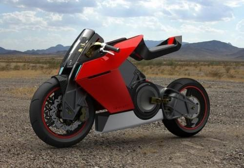 Future Transportation - Shavit Adjustable Superbike By Eyal Melnick (Video)