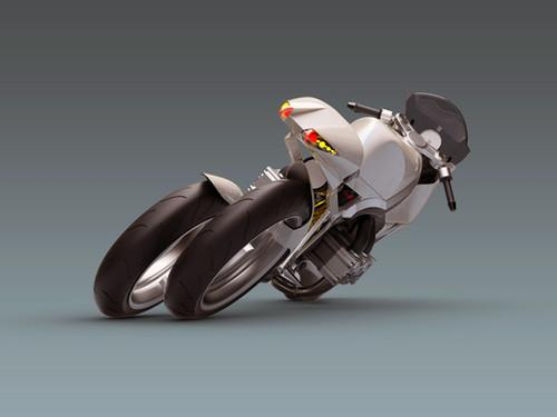 Future Transportation - Concept Motorcycle FB R200S By Miroslav Hundak (VIDEO)