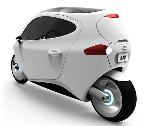Future Transportation - C-1 Gyroscopically Electric Motorcycle
