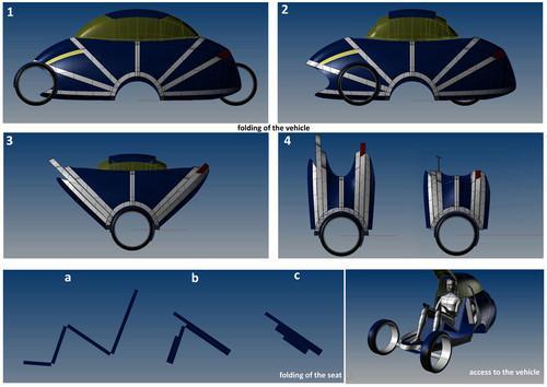 Future Transportation - 2046 SOLEIL Vehicle