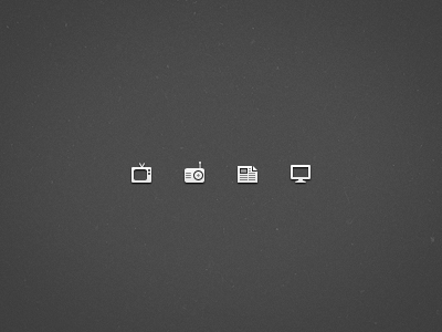 Mini Media Icons by Steinar Ingi Farestveit