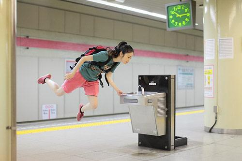 Japanese Girl Who Loves to Levitate