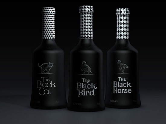A Showcase of 50 Black & White Creative Package Designs   You the Designer