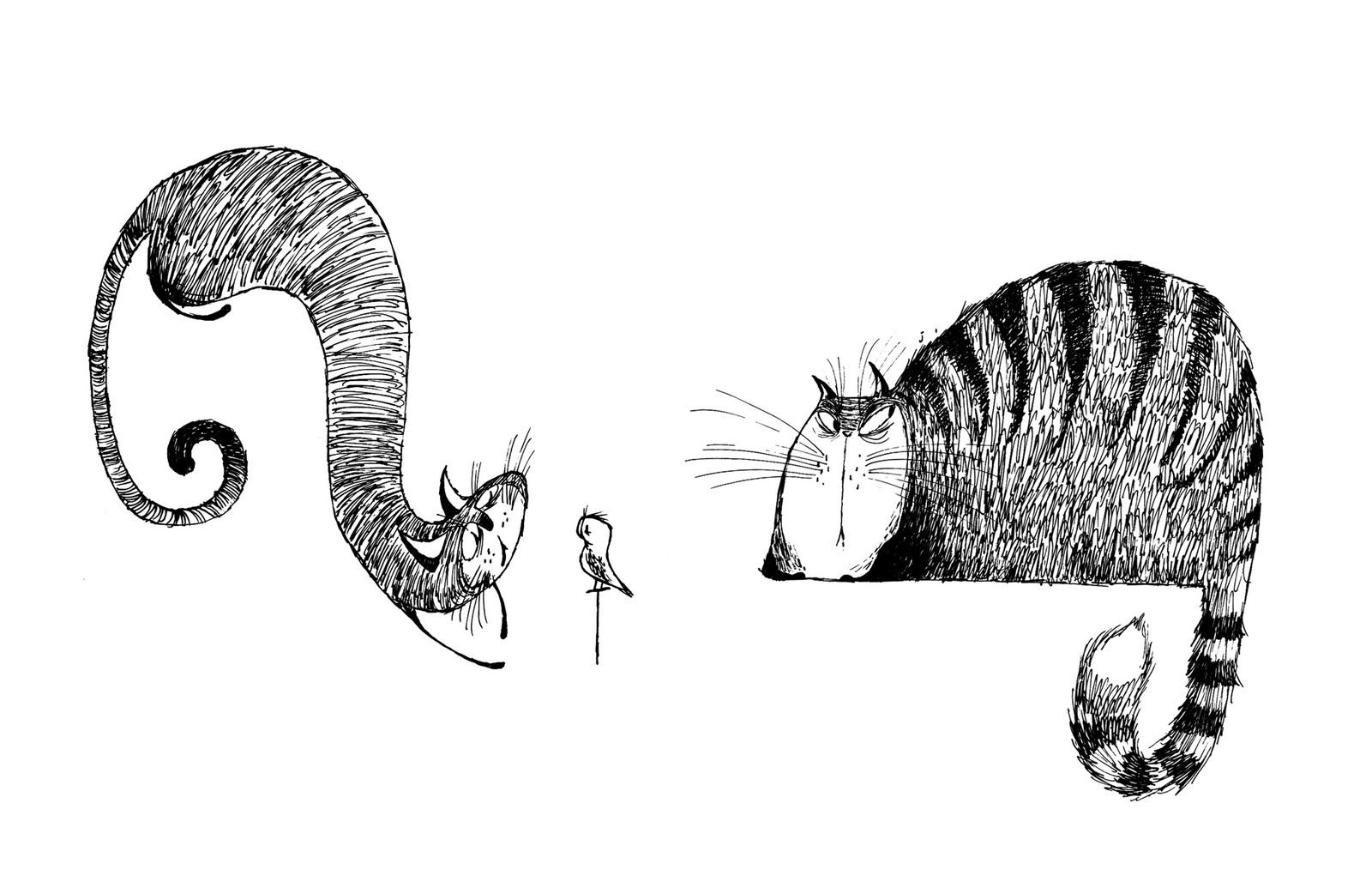 cat+drawings+03.jpg (1600×1035)