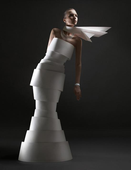 Chiffon de papier, une idée originale par Alexandra Zaharova & Ilya Plotnikov - ego-alterego.com
