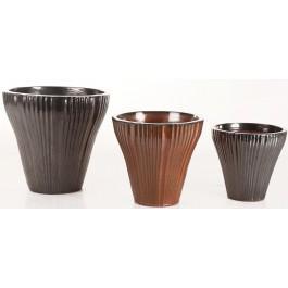 Glazed Pottery Conical - Garden Pots | Pottery - Garden