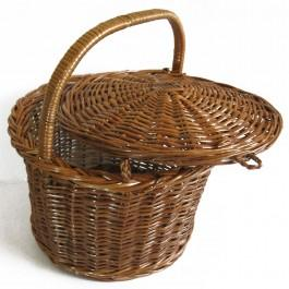 Rattan Wide Hamper - Baskets - Organize
