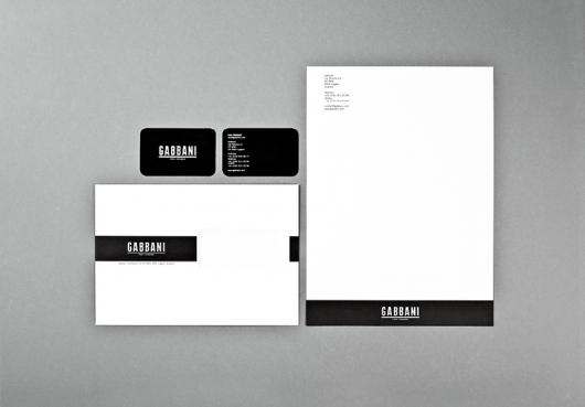 Designspiration — Gabbani stationary : DEMIAN CONRAD DESIGN