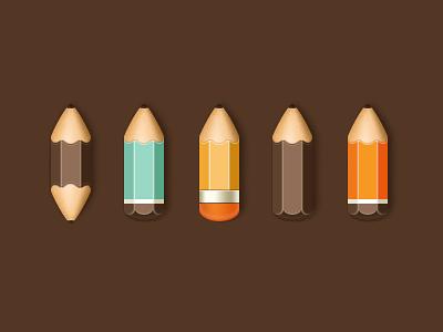 Pencils by Anna Paschenko