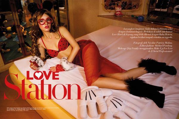 Love Station on Fashion Served