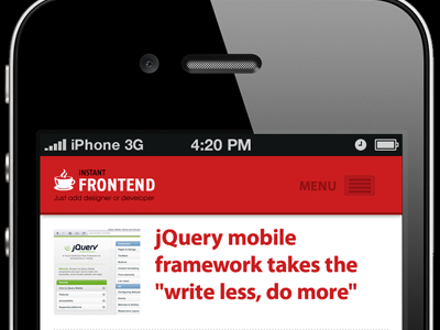 Instant Front-end jQuery Mobile by Martin Majling