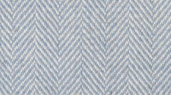 Ardalanish Online Shop | Coloured | Woad and Cream Herringbone