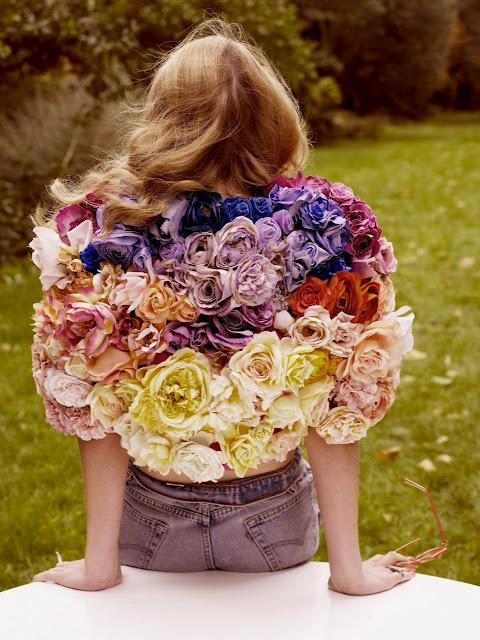 Amateur Couture: flowers, flowers everywhere