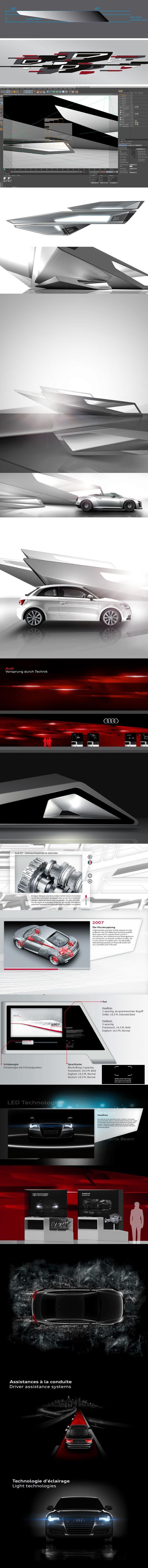 Audi Paris Motorshow 2010 sur le stand du Réseau