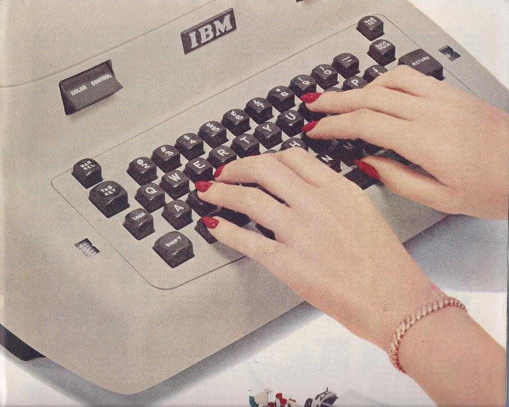 All sizes | Ad- IBM Electric Typewriter | Flickr - Photo Sharing!