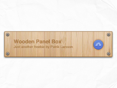 Wooden Panel (freebie) by Patrik Larsson