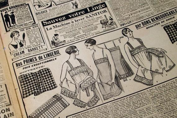 16 page 1920s Paris Fashion Magazine Flapper by PerilsOfMischief