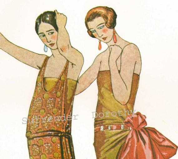 French Flapper Evening Fashions Belle Epoque by SurrenderDorothy