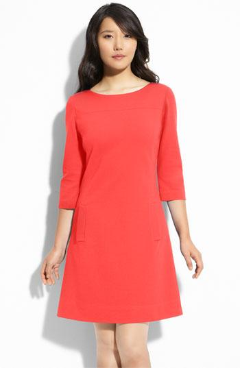 Eliza J Ponte Knit Shift Dress | Nordstrom