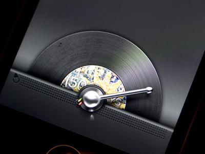 Record iPhone UI - Mobile Design by Jeff Broderick