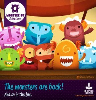 Upcoming Monster Up Adventures Windows Phone Game Demo