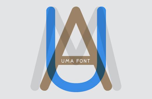 campsite | uma font