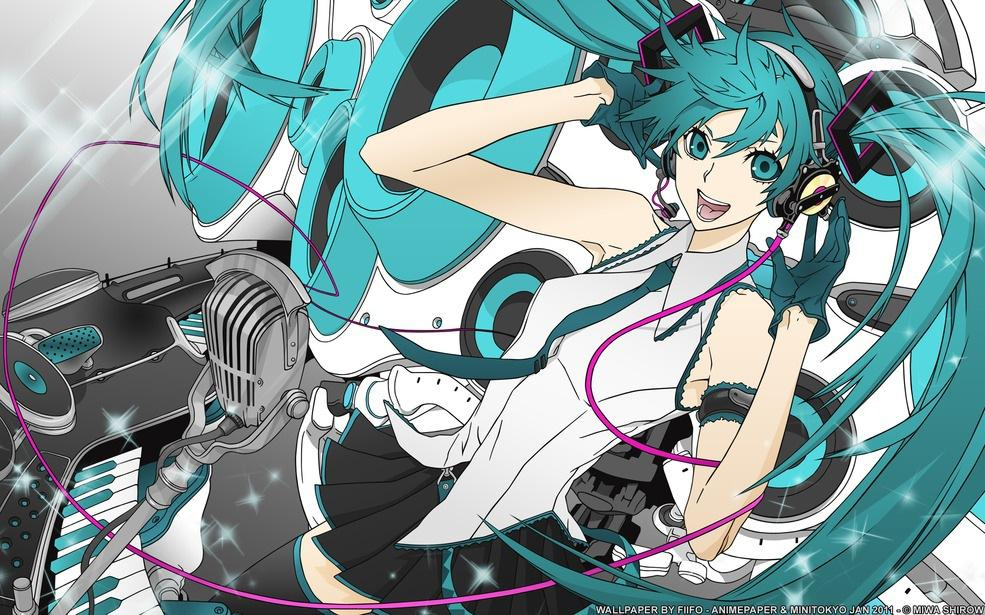 Music Is All I Need - Miwa Shirow Wallpapers - Artist Wallpapers - Anime Paper