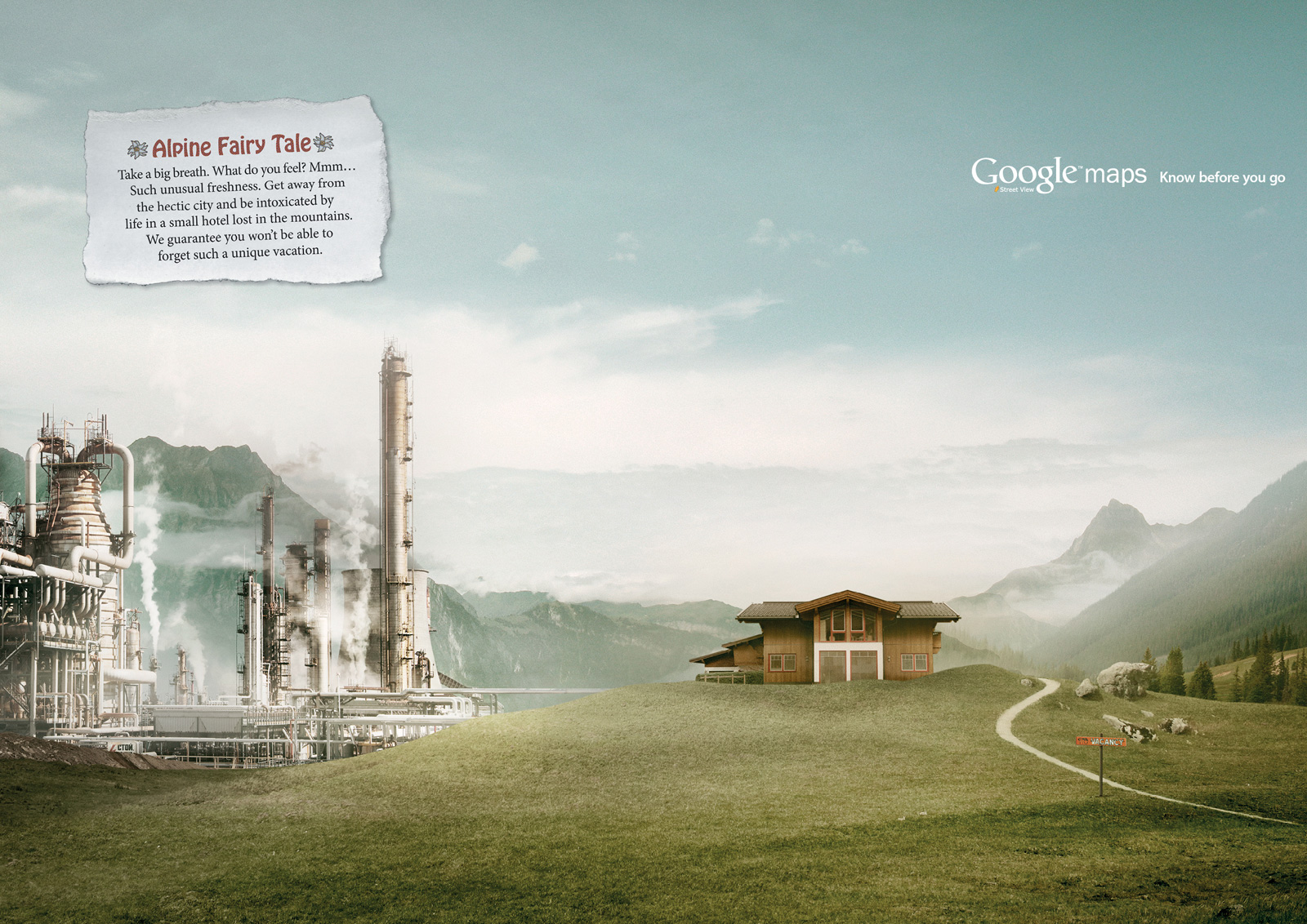 "Google Maps Street View: Powerstation | Ads of the Worldâ""¢"