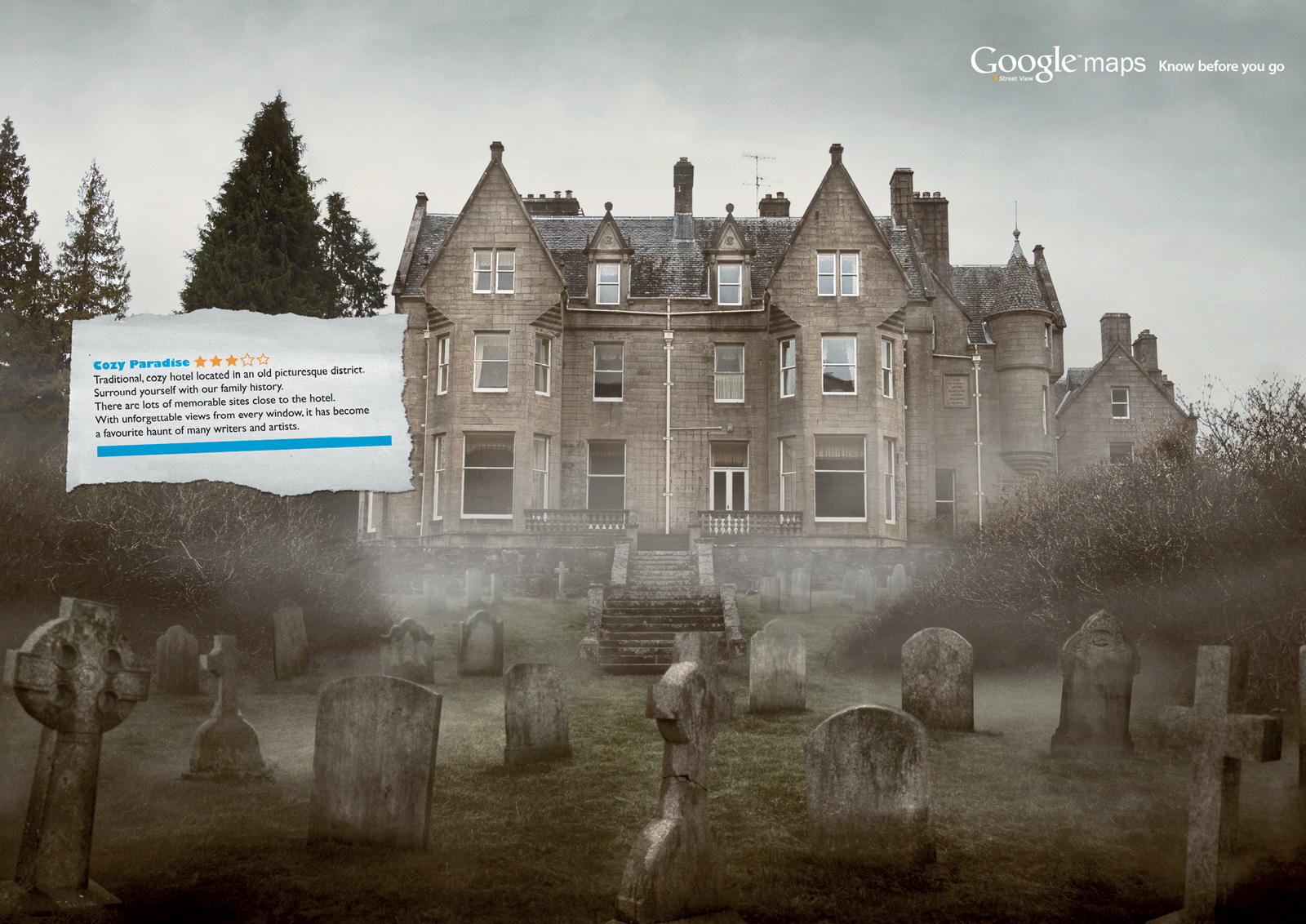 "Google Maps Street View: Graveyard | Ads of the Worldâ""¢"