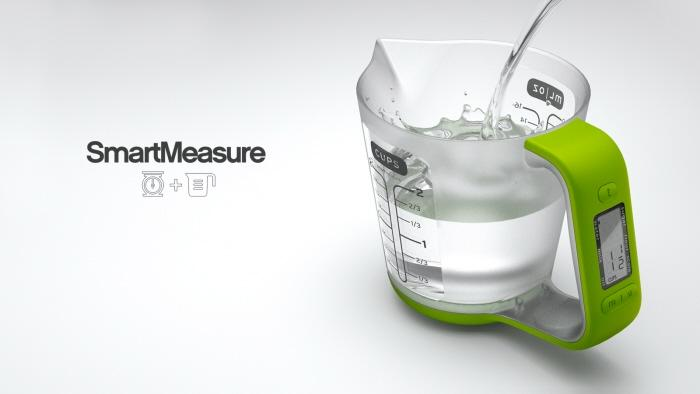 SmartMeasure - Digital Measuring Cup by Ryan Eder at Coroflot