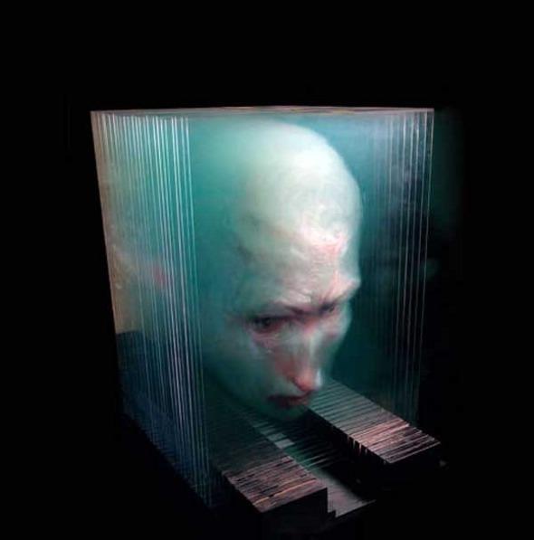Peintures 3D sur plaques de verre