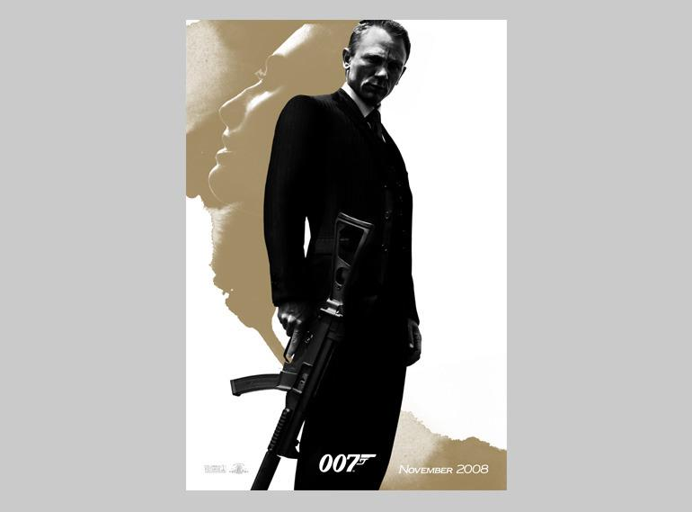 Quantum Of Solace - Richard Andrews - Direction Art & Design