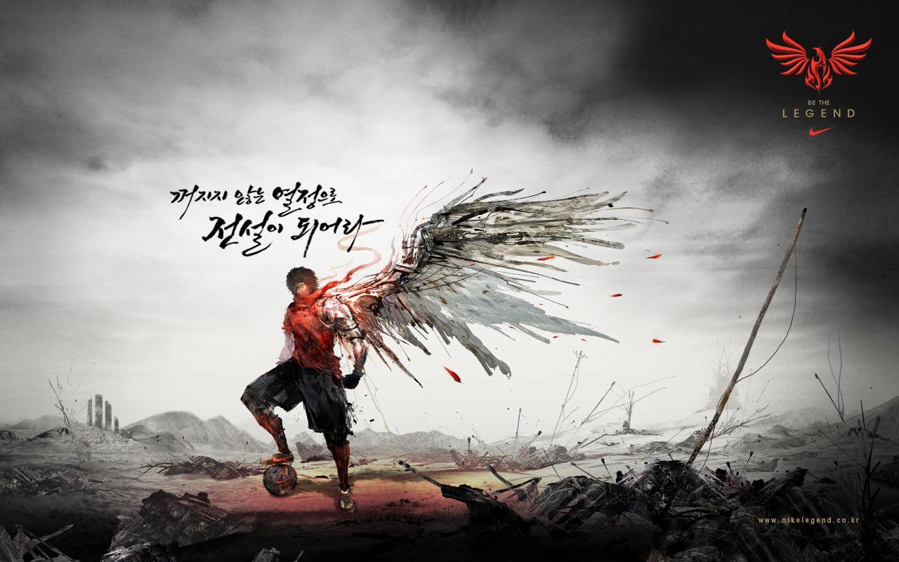 KENMOO2007 Tout, rien de mieux que rien: NIKE Corée: Soyez The Legend