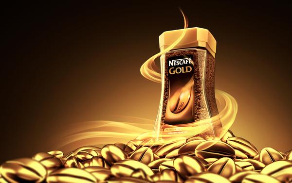Nescafé Gold sur le réseau