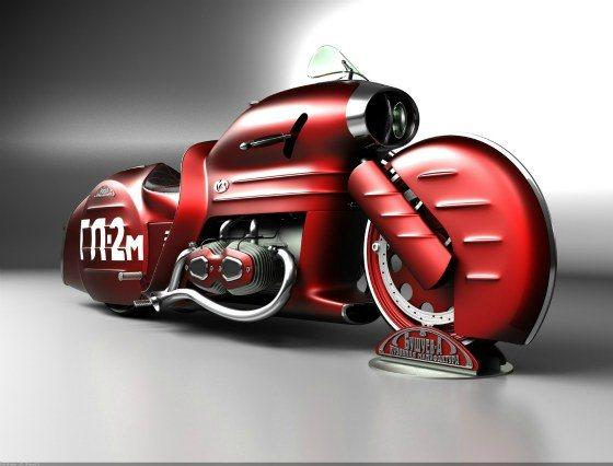 Motocicletas Extraordinarias por Mikhail Smolyanov - Pondly