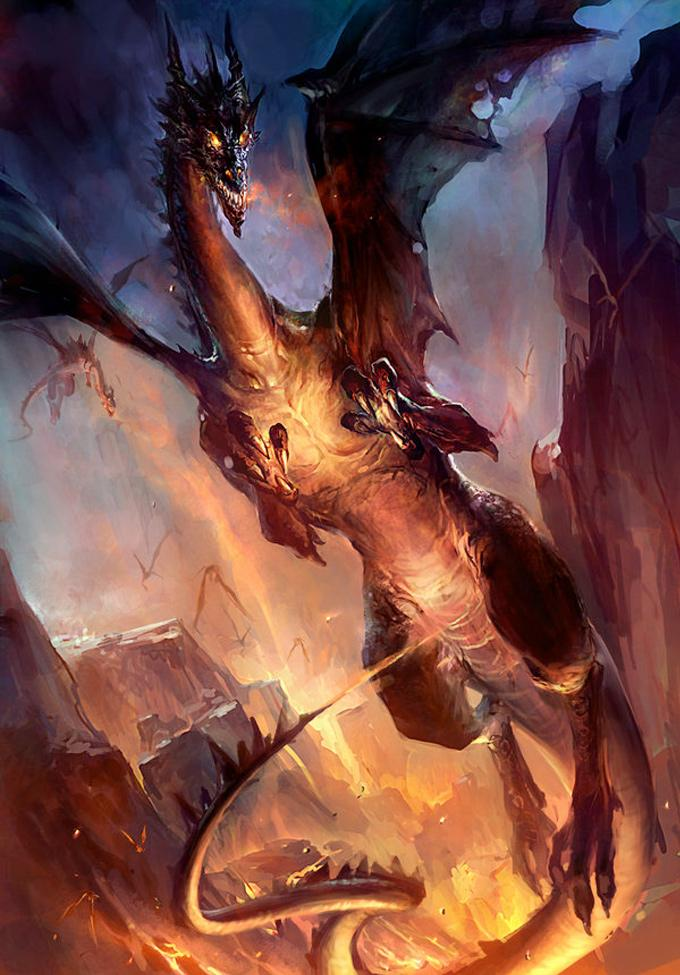 Concept Art World » 24 Inspiring Examples of Dragons