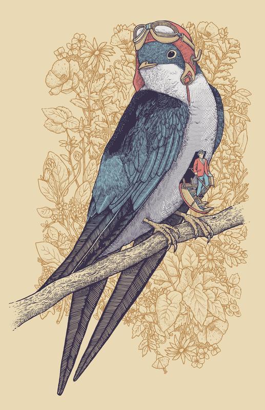 Rad Illustrations by Alvaro Arteaga | Abduzeedo | Graphic Design Inspiration and Photoshop Tutorials