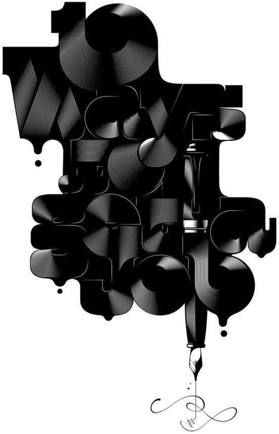 »20 + concepteurs typographie et le logo et la typographie des expériences» Blastyle »Blog Archive - design graphique, l'interaction, conception de sites Web, les concepteurs, illustration