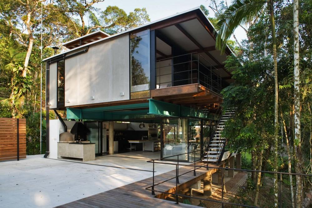 House in Iporanga / Nitsche Arquitetos Associados House In Iporanga / Nitsche Arquitetos Associados – ArchDaily