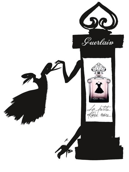 Parfum La Petite Robe Noire de Guerlain par Kuntzel et Deygas