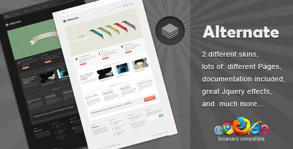 Site Templates - Alternate - Clean Html Template | ThemeForest