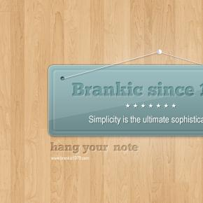 Hanging note/banner « Brankic1979 – premium web templates and wordpress themes