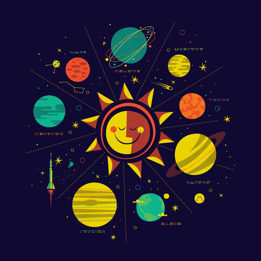 All sizes | Solar System - Made By Wolf | Flickr - Photo Sharing!