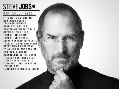 Steve Jobs: 1955 - 2011 by Jonathan Mazaltov