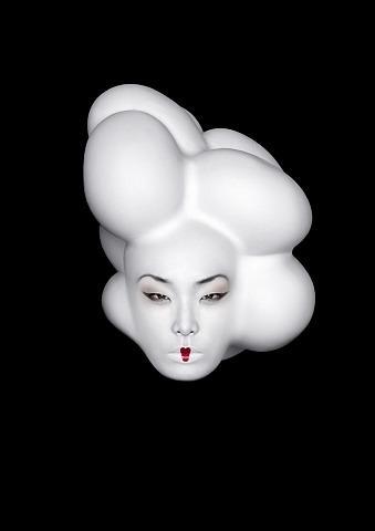 artnet Galleries: Moooi: Eggvase by Erwin Olaf from Art Statements