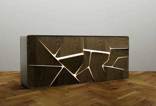 Meubles et objets design, bar et étagère design par Charles Kalpakian