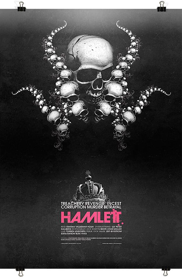 Hamlet Poster - Erik Jonsson