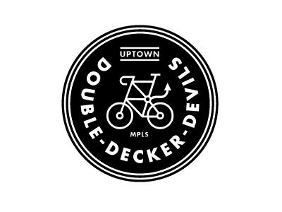 Dribbble - Mpls Bike Gangs / Double Decker Devils by Allan Peters